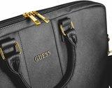 Guess GUCB15TBK Lederen Laptop Case tot 16 inch Zwart_