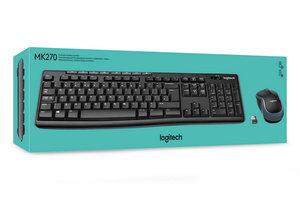 Logitech MK270 draadloos toetsenbord en muis