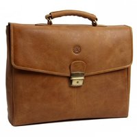 DBramante1928 Aktetas Laptop 16 Inch Golden Tan