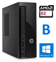 HP Slimline 260-a101nd - 1000Gb - 4GB - AMD R2 B-Keus - 12maand garantie