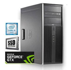 HP Compaq 8200 elite / 8GB RAM / 250GB SSD / GTX1650 / Gebruikt