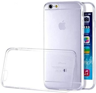 iPhone 6/6s transparant siliconen case