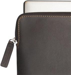 DBramante1928 Leather Case Skagen MacBook 13 Inch Hunter dark