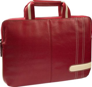"Krusell Gaia Laptop Slim Case 16"" Briefcase Red"