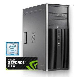 HP Compaq 8200 elite / 8GB RAM / 1000GB HDD / NVIDIA GTX 1050 / Gebruikt
