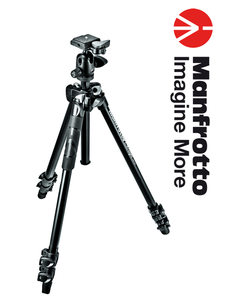 Manfrotto MK290LTA3-BH 290 Light Kit + Ballhead